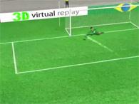 Veja os gols em 3D da Copa