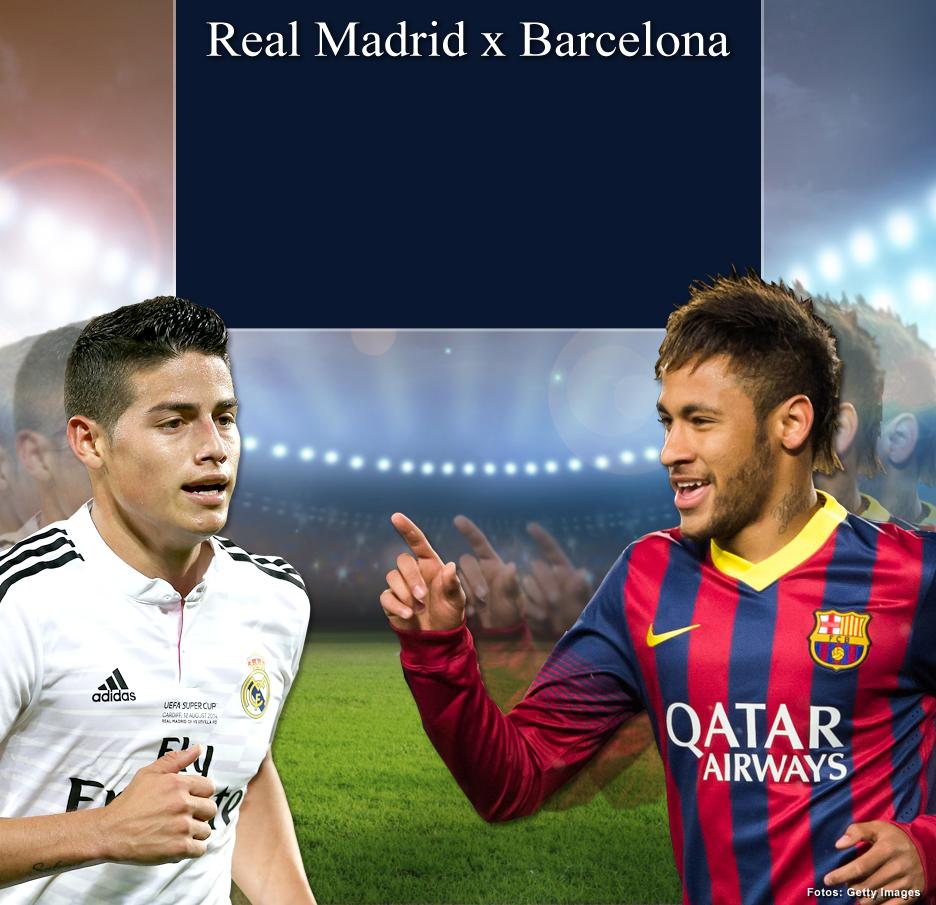 Monte o seu time  os rivais Barcelona e Real Madrid - Terra 50e1eebf0e2cc