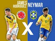 Neymar x James Rodriguez